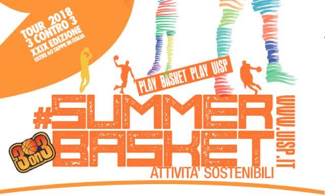 "Al via il ""Summer Basket Uisp 2018"" a Orvieto e Todi"