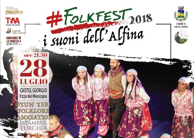 Dall'Alfina si apre il sipario su #FolkFest2018