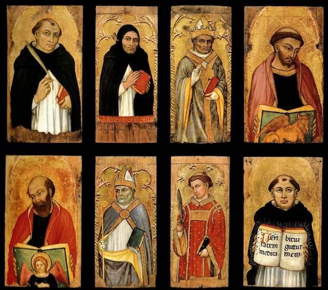 Otto dipinti di Taddeo di Bartolo entrano a far parte della collezione della Fondazione Cassa di Risparmio di Perugia