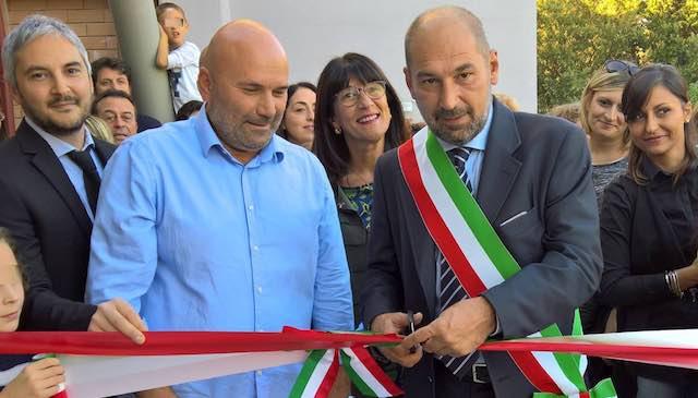 Inaugurato il giardino inclusivo della Scuola dell'Infanzia di Ammeto