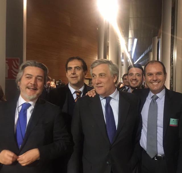 Tajani nuovo presidente del Parlamento europeo, annuncia viaggio nelle zone terremotate