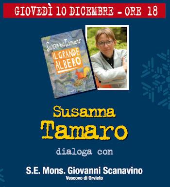 """L'importanza delle radici: al Libro Parlante Susanna Tamaro presenta il suo """"grande albero"""""""