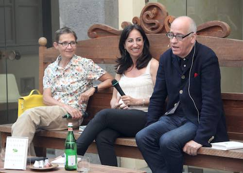 """Susanna Tamaro e Lucia Goracci a Orvieto diventano """"Testimoni di pace"""""""