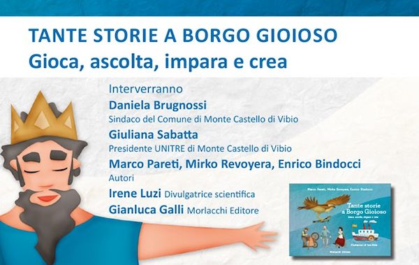 """""""Tante Storie a Borgo Gioioso"""", un gioco da tavolo e un audiolibro"""