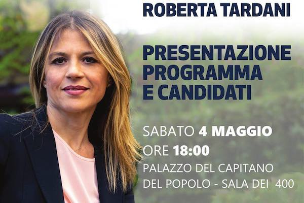 Incontro con la candidata sindaco Roberta Tardani