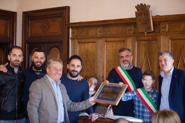 Il consiglio comunale premia l'As San Venanzo per la conquista della Promozione