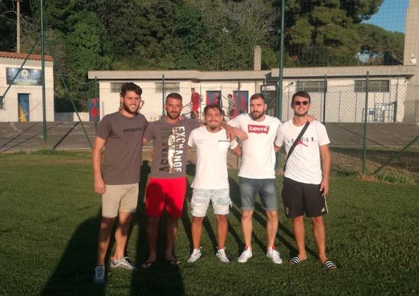 Il Tarquinia Calcio si prepara alla Prima Categoria, ecco i nuovi arrivi in maglia blugranata