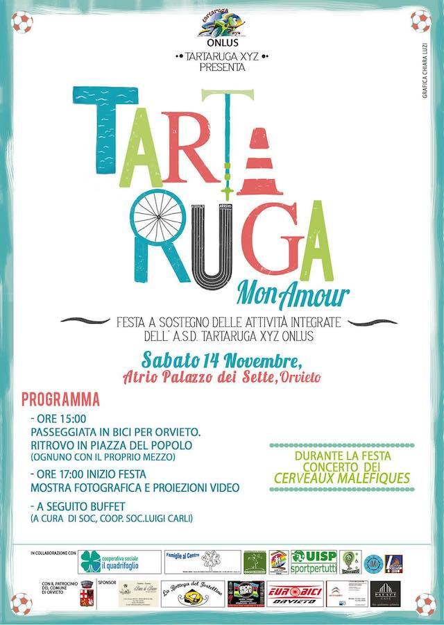 """""""Tartaruga Mon Amour"""", festa a sostegno delle attività di sport integrato"""