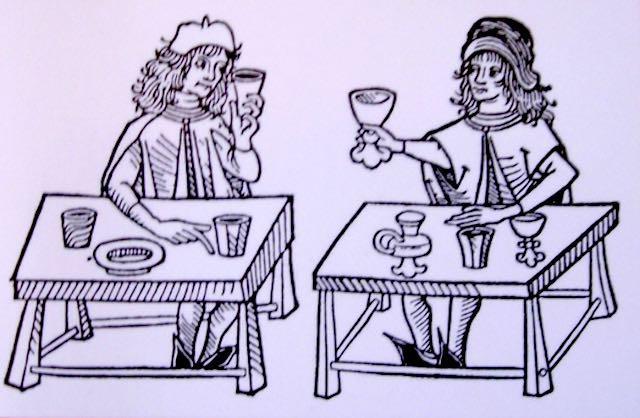 """All'enoteca """"Wine Class"""", cena medievale e incontro con l'autore"""