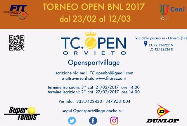 Il tennis dà spettacolo. Via al Torneo Open BNL 2017 al Club Opensportvillage