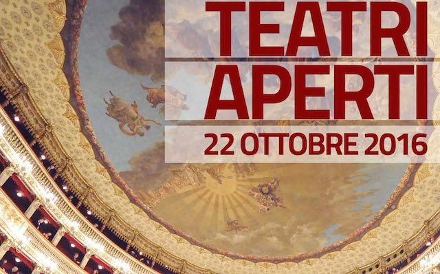 Il Teatro Diana aderisce all'iniziativa Teatri Aperti