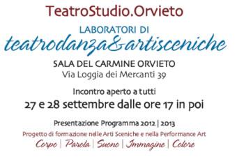 Alla Sala del Carmine TeatroStudio Orvieto incontra pubblico, stampa e studenti