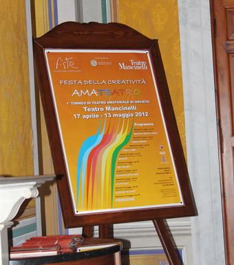 """Al Mancinelli via a """"Amateatro"""", 1° Torneo di Teatro amatoriale. Otto compagnie in gara"""