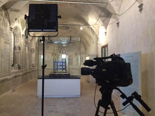 """Le telecamere di """"Italia Bel Paese"""" a Orvieto. Presto in onda su Uno Mattina"""