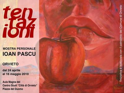"""""""Tentazioni"""", personale di pittura di Ioan Pascu al Centro Studi """"Città di Orvieto"""""""