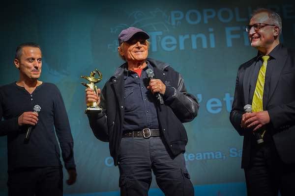 """Premio Angelo alla Carriera a Terence Hill a """"Popoli e Religioni"""""""