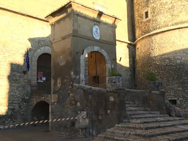 Danni al Castello e alla Chiesa di Santa Maria Assunta