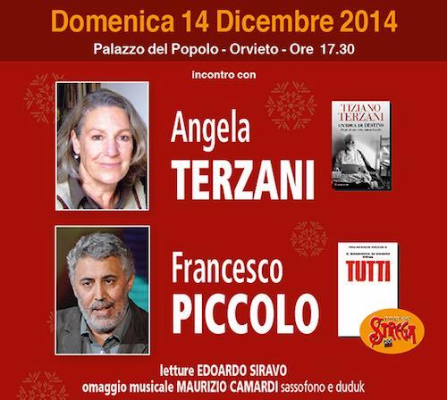 """Angela Terzani e Francesco Piccolo a Orvieto per l'ultimo appuntamento de """"Il Libro Parlante"""""""