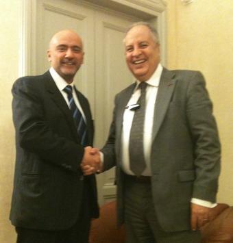 Il sindaco di Fabro Maurizio Terzino è stato ricevuto a Roma dall'ambasciatore del Marocco