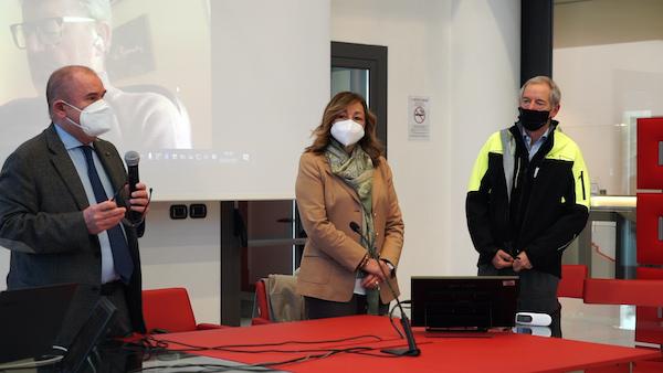 La presidente Tesei accoglie e ringrazia il personale sanitario proveniente dalla Lombardia