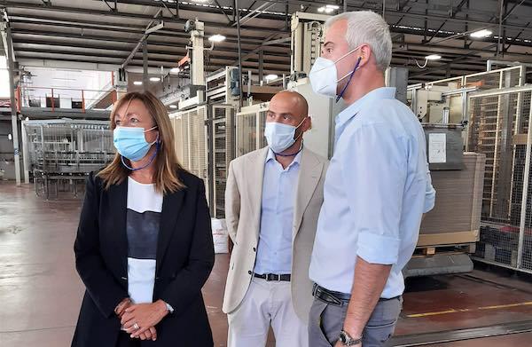 La presidente Tesei avvia un programma di visite alle aziende umbre