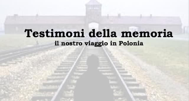 """Studenti in Comune per presentare """"Testimoni della Memoria. Il nostro viaggio in Polonia"""""""
