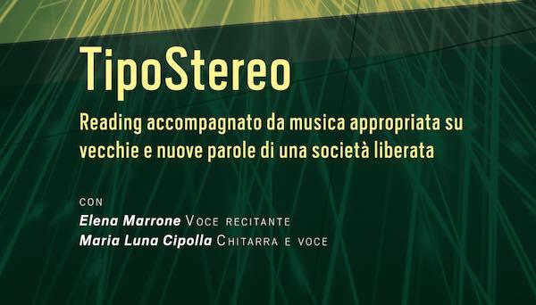 """In streaming il reading """"Tipo Stereo (e altre cose che non si possono dire)"""""""