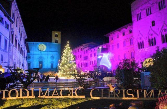 Todi Magic Christmas. Tra luci e musica, il Natale dà spettacolo