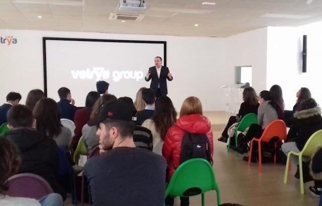 A lezione di futuro da Vetrya, gli studenti dell'Istituto Mazzini di Magione e del corso ERSlab Luiss Guido Carli
