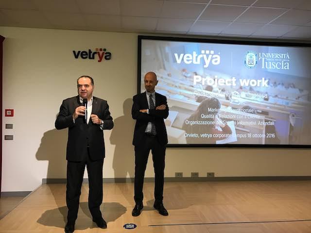 Vetrya e Università della Tuscia: formazione 4.0 per gli studenti del corso Marketing e Qualità