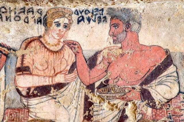 """""""Aperti per restauro"""". Visite guidate con gli archeologi alla Tomba degli Scudi"""