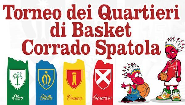 """Decima edizione per il Torneo dei Quartieri di Basket """"Corrado Spatola"""""""