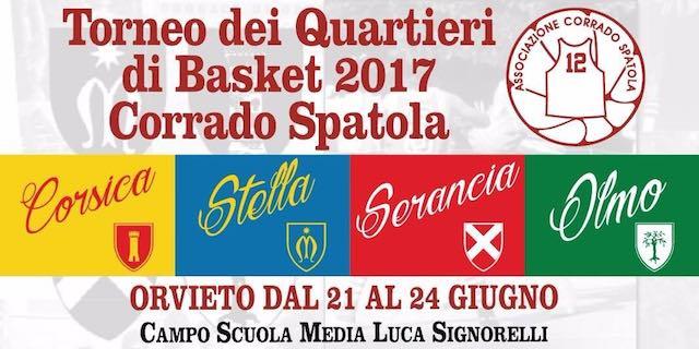 """Torneo dei Quartieri di Basket """"Corrado Spatola"""", le novità dell'ottava edizione"""
