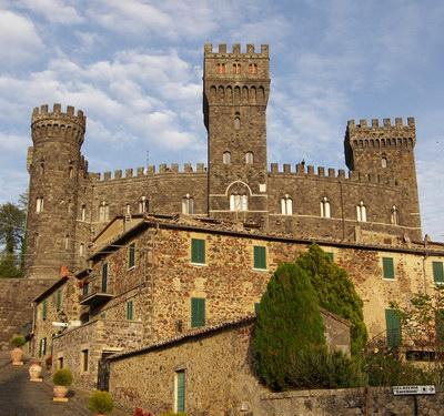 All'asta il Castello di Torre Alfina. Per la residenza di Gaucci si parte da 10 milioni di euro
