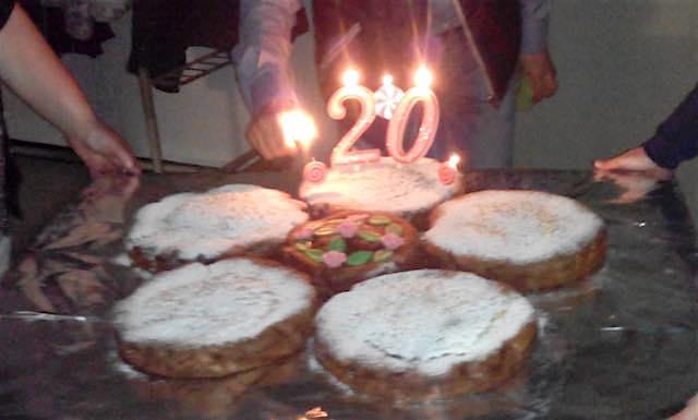 Orvieto Scalo festeggia i primi venti anni di sacerdozio di don Stefano Puri