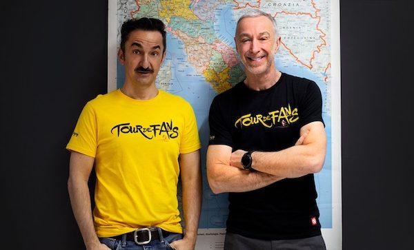"""Linus e Nicola in bicicletta, fa tappa a Orvieto il """"Tour De Fans"""" di Radio Deejay"""