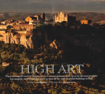 """Orvieto su """"Traveller International"""" la rivista di viaggi e turismo più importante del mondo"""