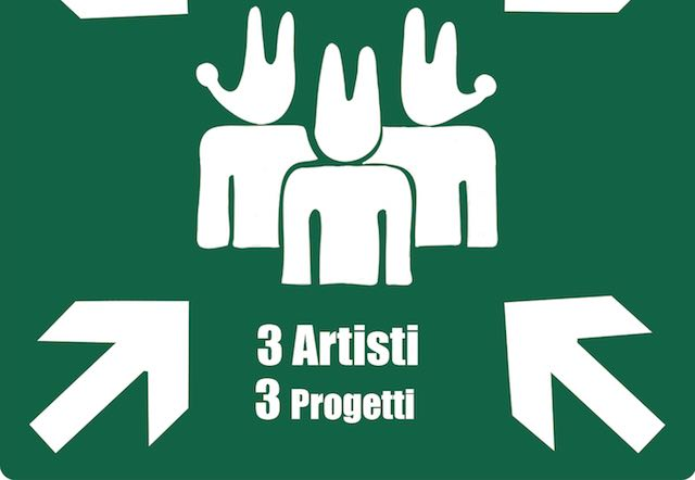 Tre artisti, tre progetti. Punto d'incontro: La Serpara
