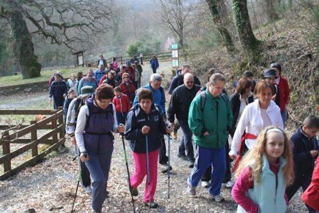 Camminata di Pasquetta 2017 a Torre Alfina