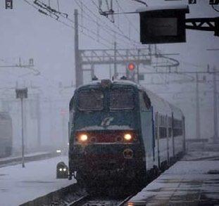 """Trenitalia pronta ad attivare il """"Piano Neve e Gelo"""""""