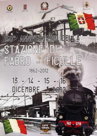 Grandi festeggiamenti per i 150 anni della stazione ferroviaria Fabro-Ficulle