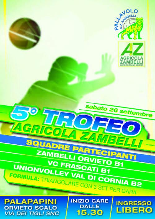 Trofeo Agricola Zambelli ai nastri di partenza al PalaPapini