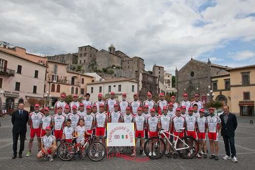 """Presentato a Bolsena il """"Trombadore's Team 2014"""""""
