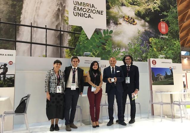 """Turismo, all'Umbria tre premi """"Italia destinazione digitale"""" al Ttg di Rimini"""