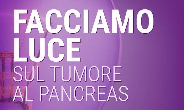 Lotta al tumore al pancreas, il Comune s'illumina di viola