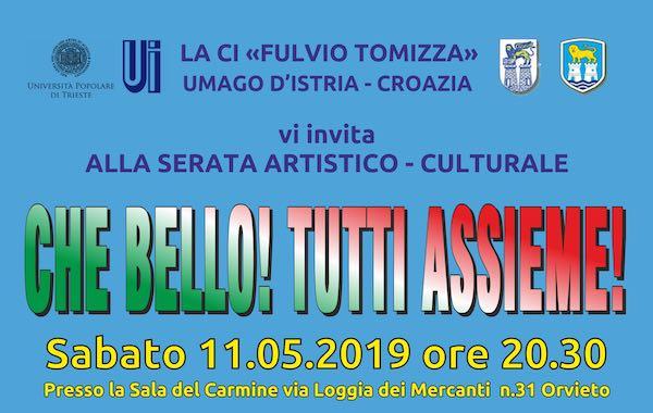 """""""Che bello! Tutti Assieme!"""". Spettacolo in dialetto istro-veneto al Carmine"""
