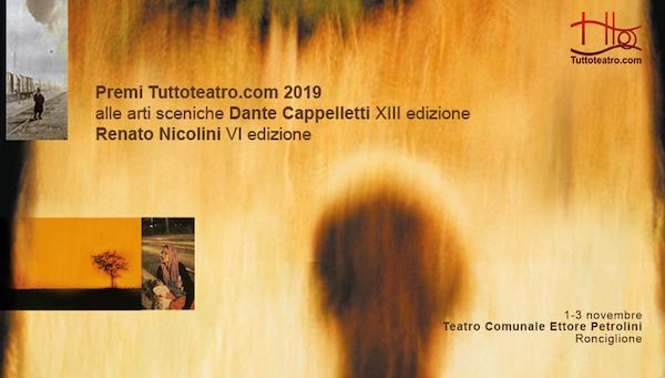 """Premio Tuttoteatro.com alle arti sceniche """"Dante Cappelletti"""""""