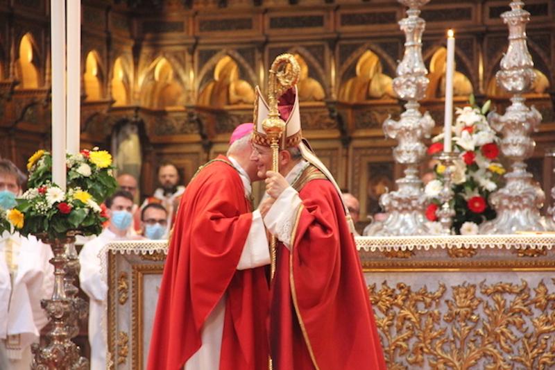 Ingresso solenne in Diocesi e omaggio al Corporale per monsignor Gualtiero Sigismondi
