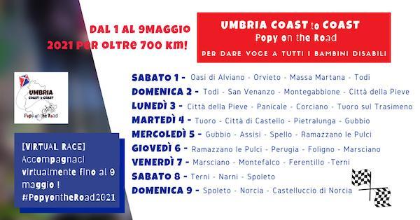 """Orvieto aderisce a """"Umbria Coast to Coast"""". Prologo con accoglienza in Piazza Duomo"""