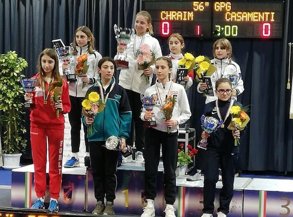 Caterina Della Ciana conquista il terzo posto al Campionato Italiano Gpg di Riccione